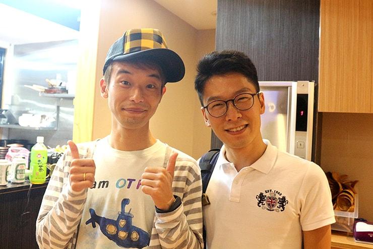 台北海外ブロガーオフ会2016の会場で出会った「SEKATABI」のユータローさん
