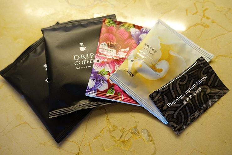 台北・信義區のLGBTフレンドリーホテル「home hotel」逸寬套房のティーバッグ