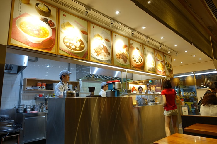 台北駅最寄りのグルメタウン・雙連「雙連圓仔湯」の店内