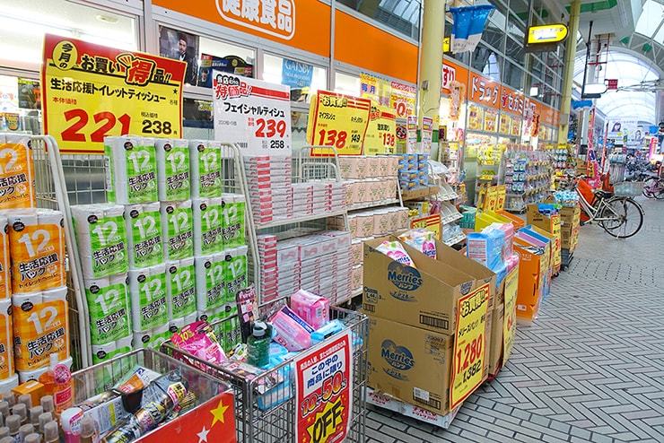 日本のドラッグストア