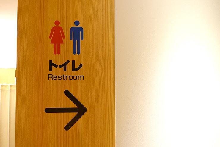 日本のトイレの標識