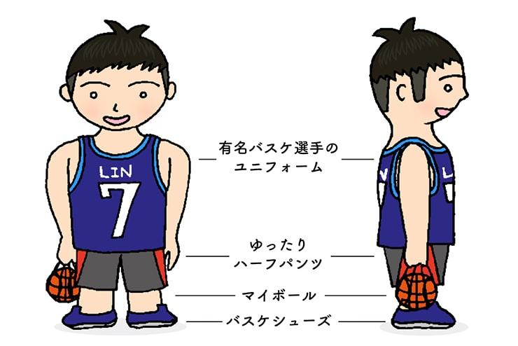 台湾男子の胸キュンスタイル「これからみんなでバスケスタイル」