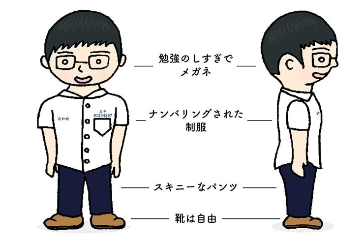 台湾男子の胸キュンスタイル「青春の制服スタイル」
