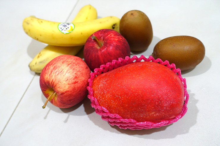 台湾のスーパーで買えるフルーツ