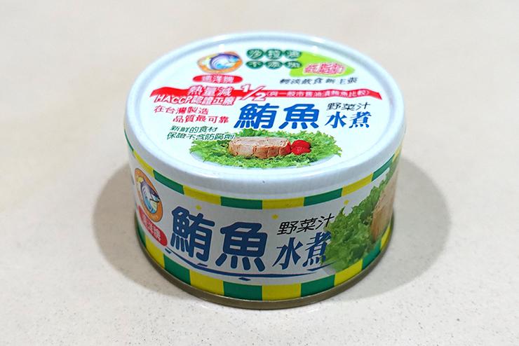 台湾のコンビニで買えるツナ缶