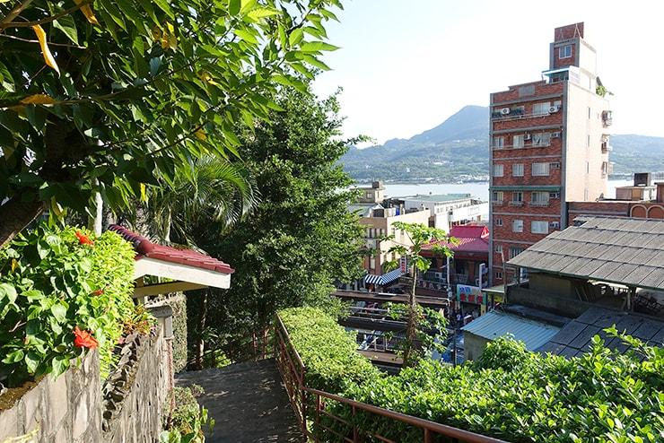 台北・淡水「淡水紅樓」から見える淡水河