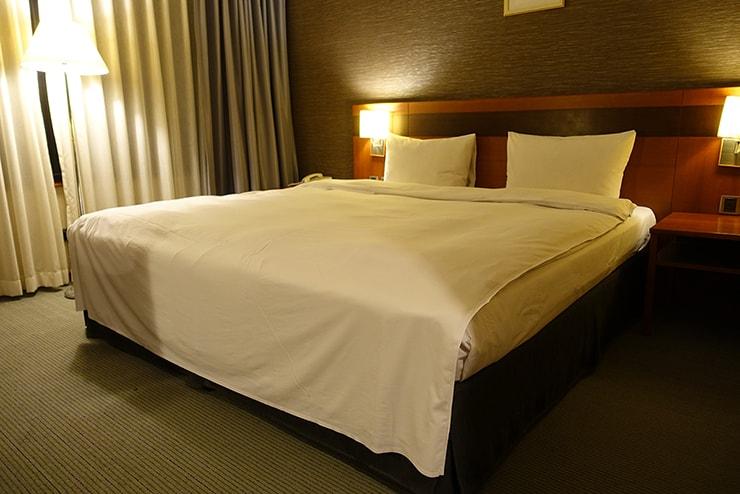 新竹の豪華ビジネスホテル「新竹福泰商務飯店 Forte Hotel Hsinchu」のダブルルーム