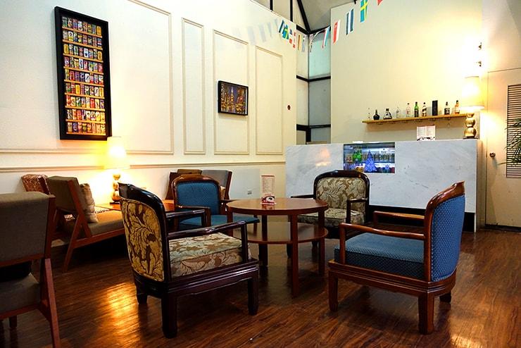 新竹の豪華ビジネスホテル「新竹福泰商務飯店 Forte Hotel Hsinchu」のバー