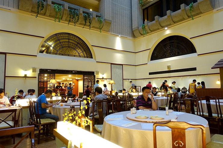 新竹の豪華ビジネスホテル「新竹福泰商務飯店 Forte Hotel Hsinchu」のレストラン