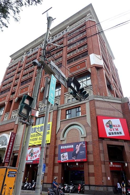 新竹の豪華ビジネスホテル「新竹福泰商務飯店 Forte Hotel Hsinchu」の外観