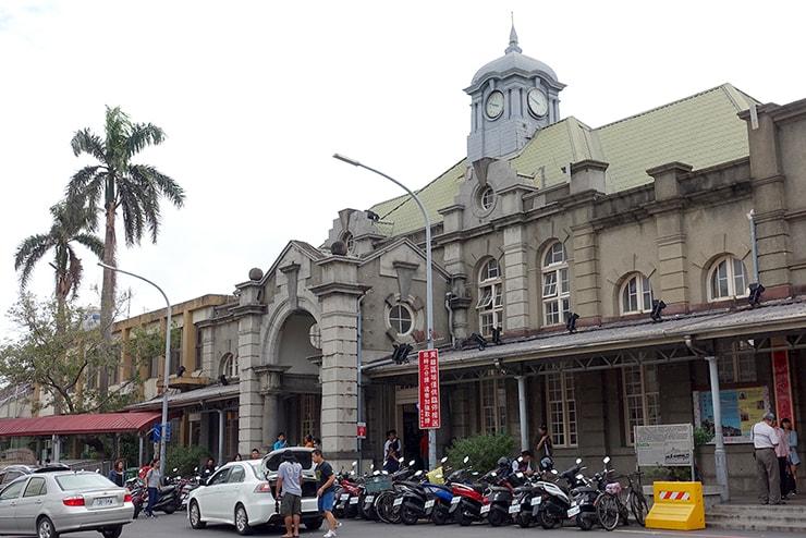 台鐵(台湾鉄道)新竹駅