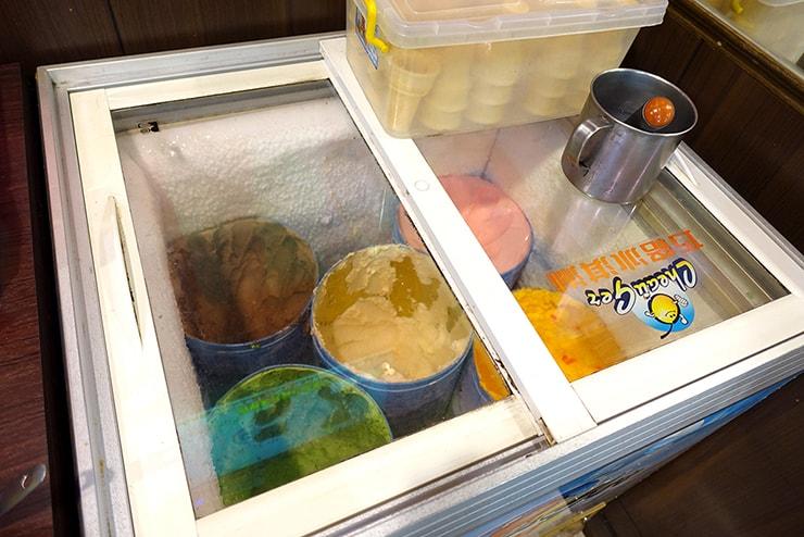 台湾の一人鍋チェーン店「三媽臭臭鍋」の食べ放題アイスクリーム