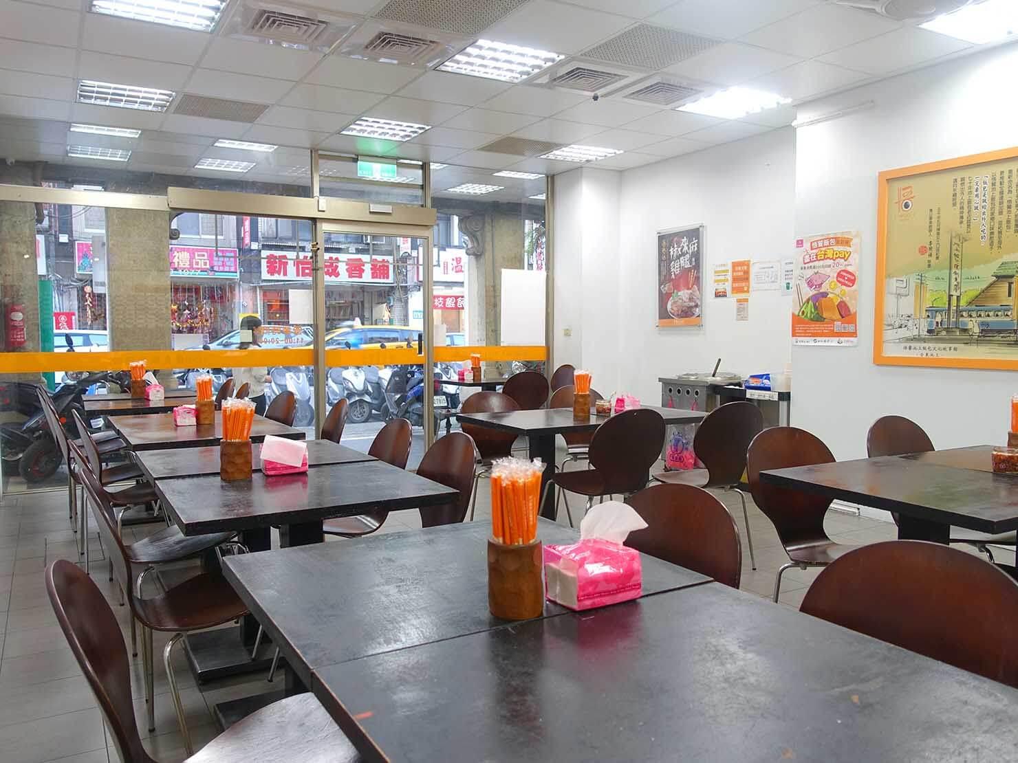 台湾のお弁当チェーン店「悟饕池上飯包」の店内