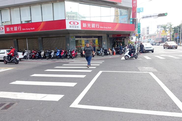 台中路の新光銀行