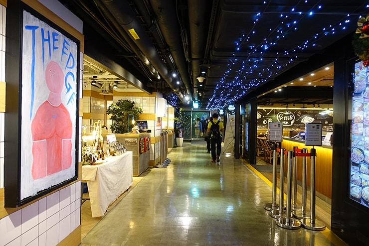 台北駅前のグルメスポット「HOYII 北車站」の店内