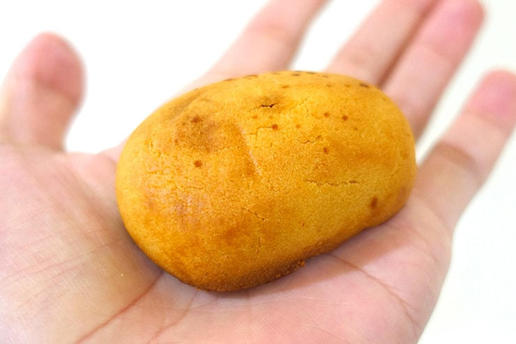 台北駅のおすすめおみやげ「董師傅」の花蓮薯芋(芋まんじゅう)