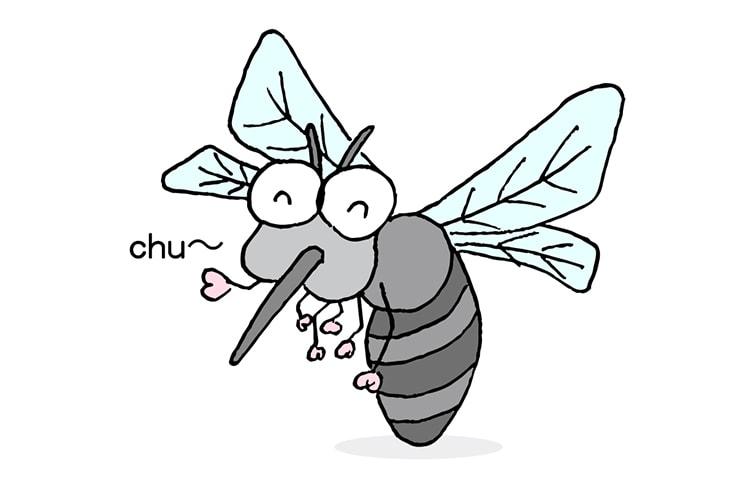 台湾人彼氏の天敵「蚊」