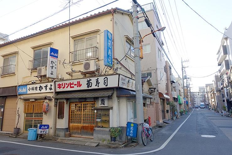 東京・押上の下町風景