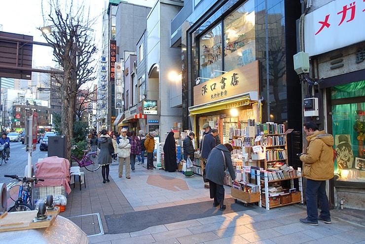 東京・神保町の古本屋街