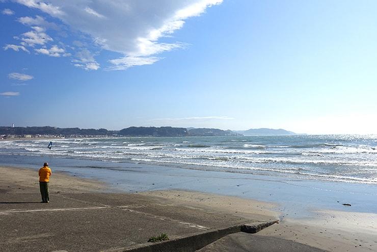 神奈川・鎌倉の海岸