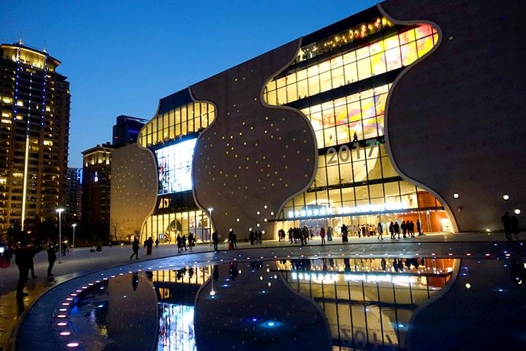台中観光の新名所「台中歌劇院 Taichung National Theatre」