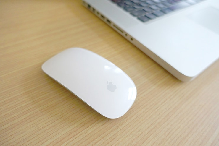 台湾で愛用しているmac用マジックマウス