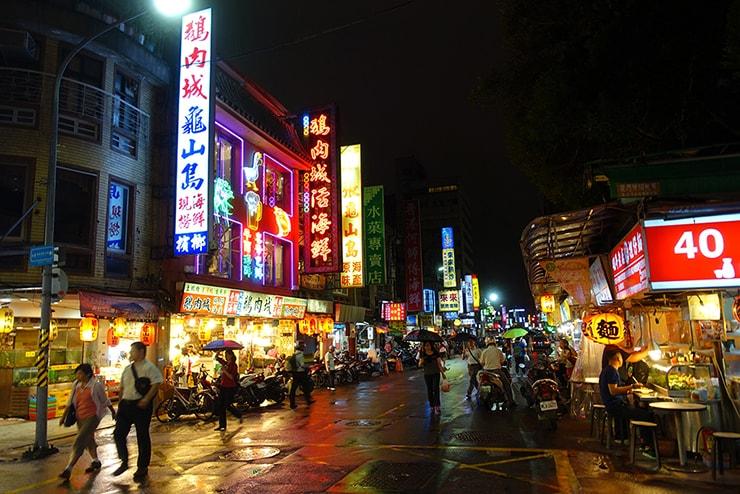 台北・遼寧街夜市