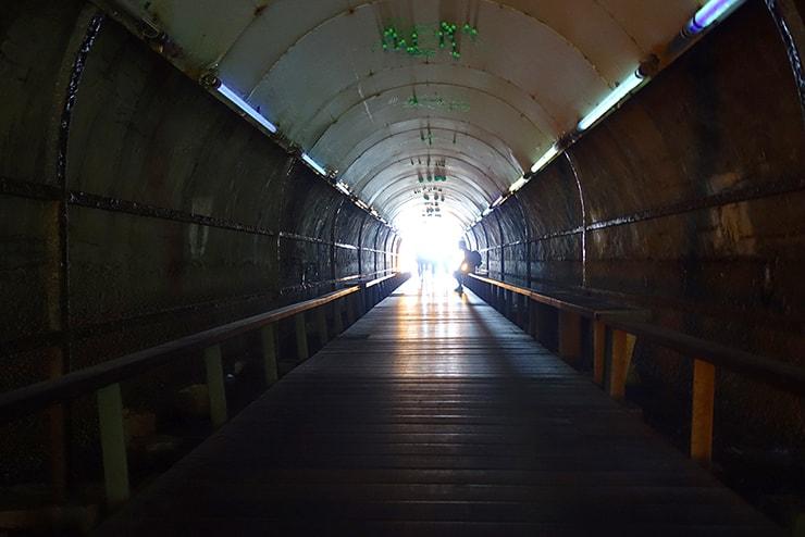 高雄・旗津の人気観光スポット「星光隧道」