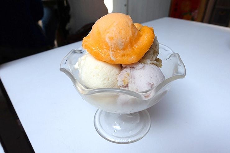 高雄・旗津「斗六冰城」の招牌冰淇淋