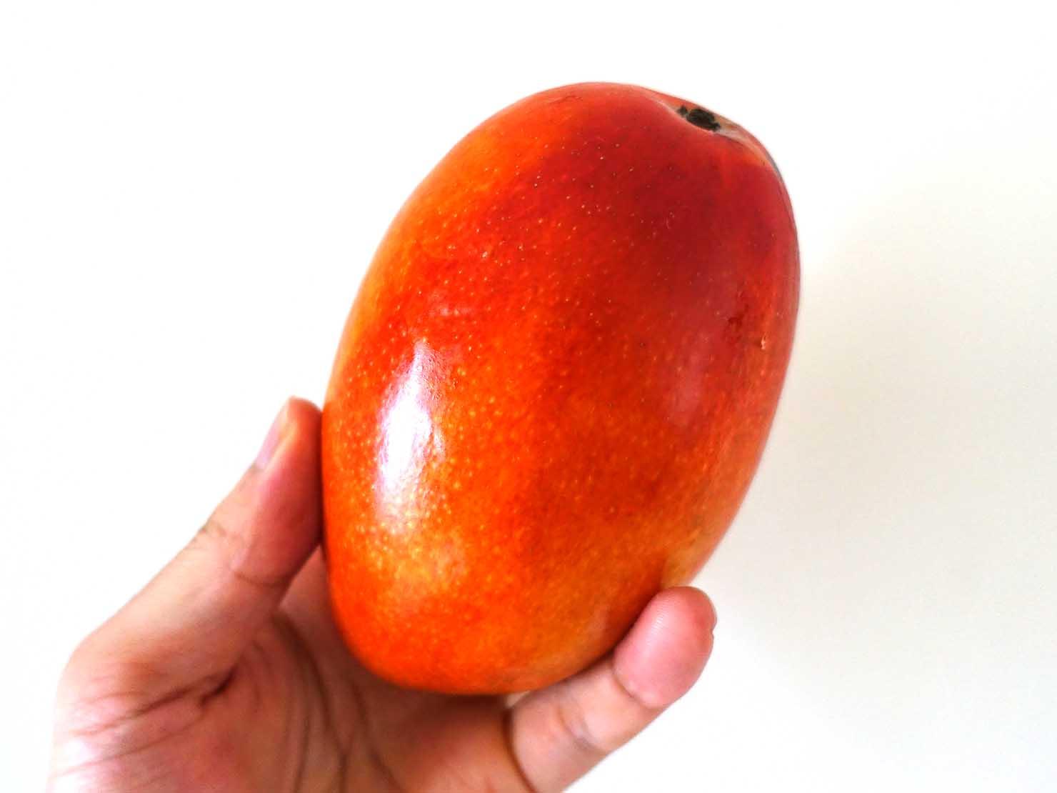 台湾で定番の赤いマンゴー「愛文芒果」