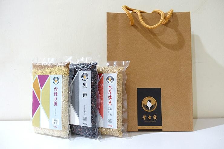 台北・迪化街のお米屋さん「葉晋發」の台湾米小分けパック
