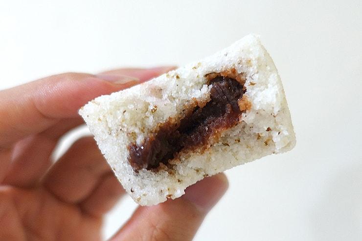 台北・迪化街のお菓子屋さん「合興壹玖肆柒」の鬆糕クローズアップ