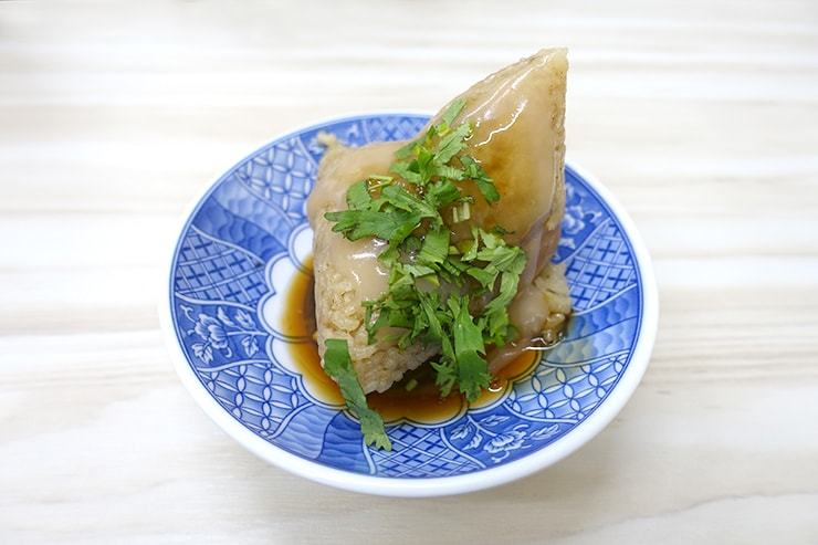 台湾の伝統グルメ「粽子(ちまき)」