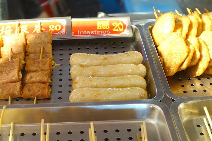 台湾の伝統グルメ「糯米腸」