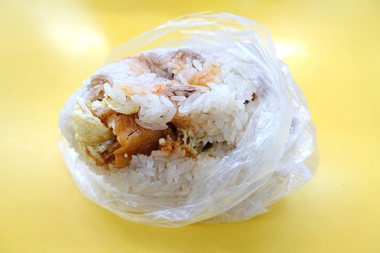 台湾の朝ごはん「飯糰(台湾式おにぎり)」