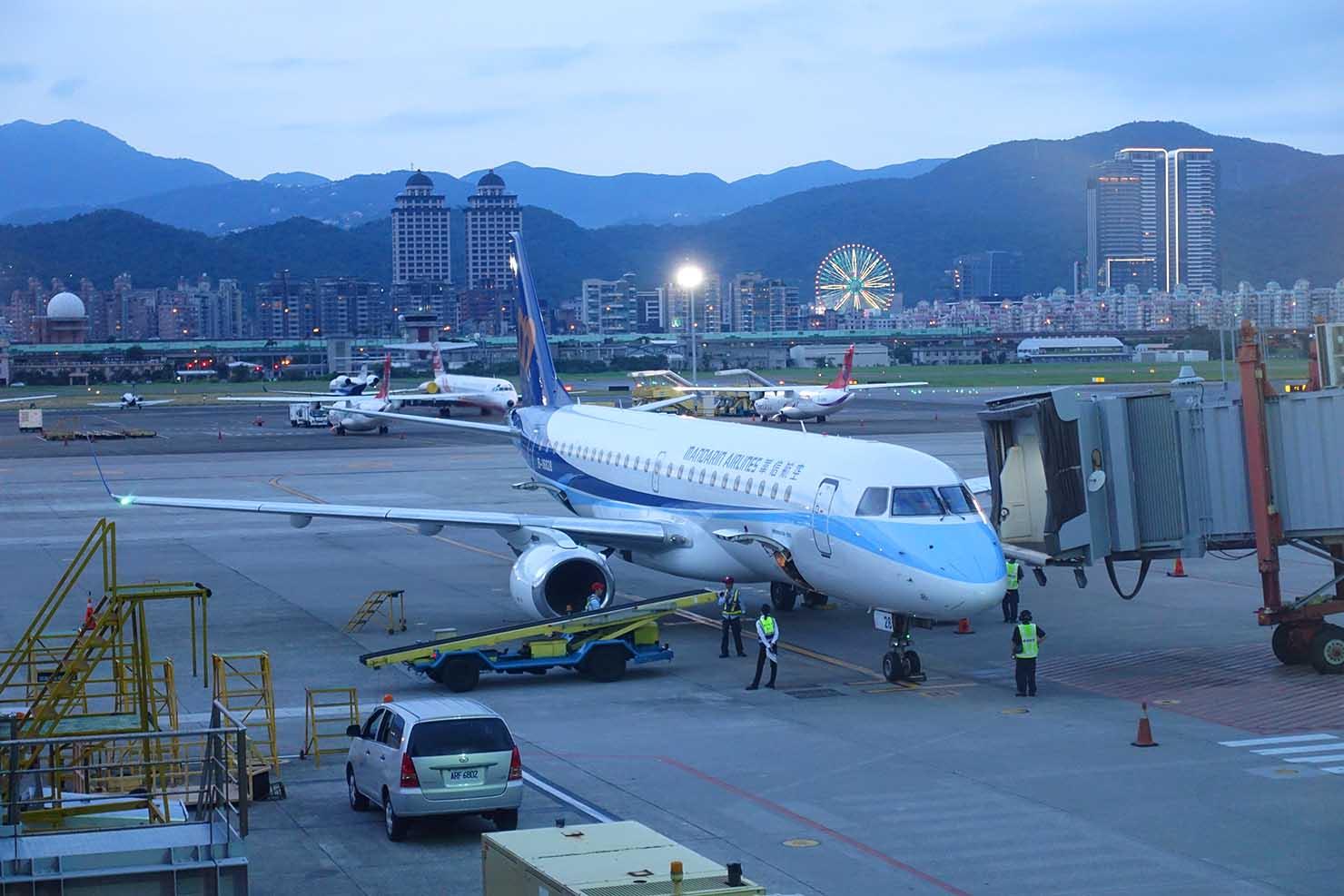 台湾国内線マンダリン航空
