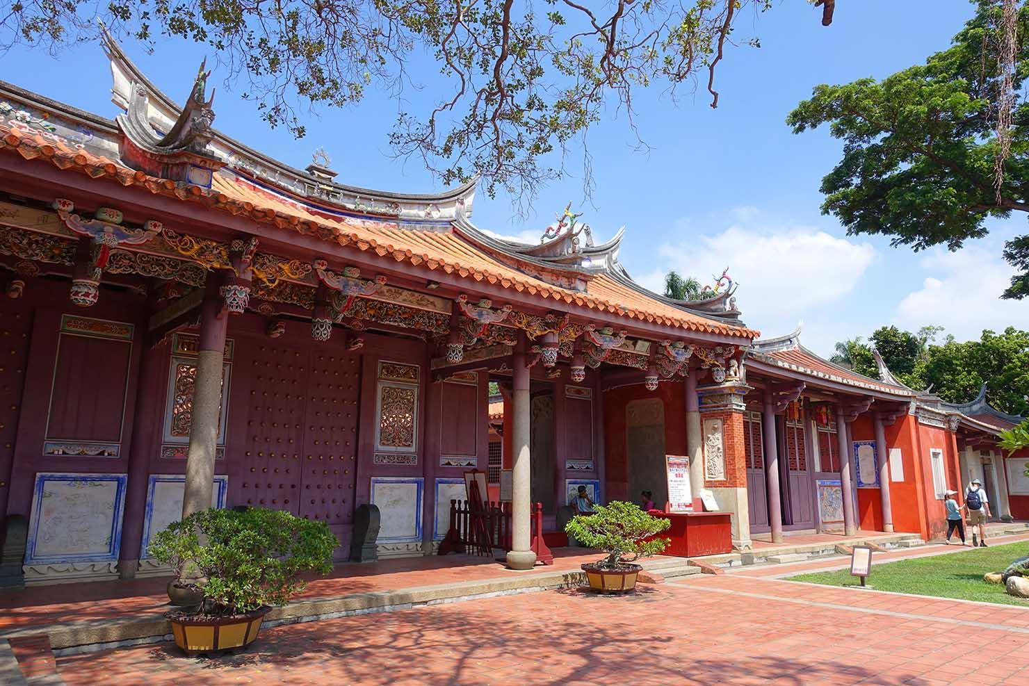 台湾の古都・台南のおすすめ観光スポット「孔廟」の建物