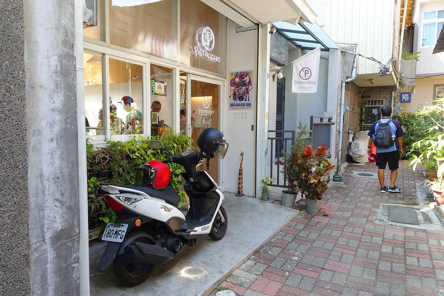 台湾の古都・台南のおすすめ観光スポット「孔廟」周辺の路地ナカスイーツ店