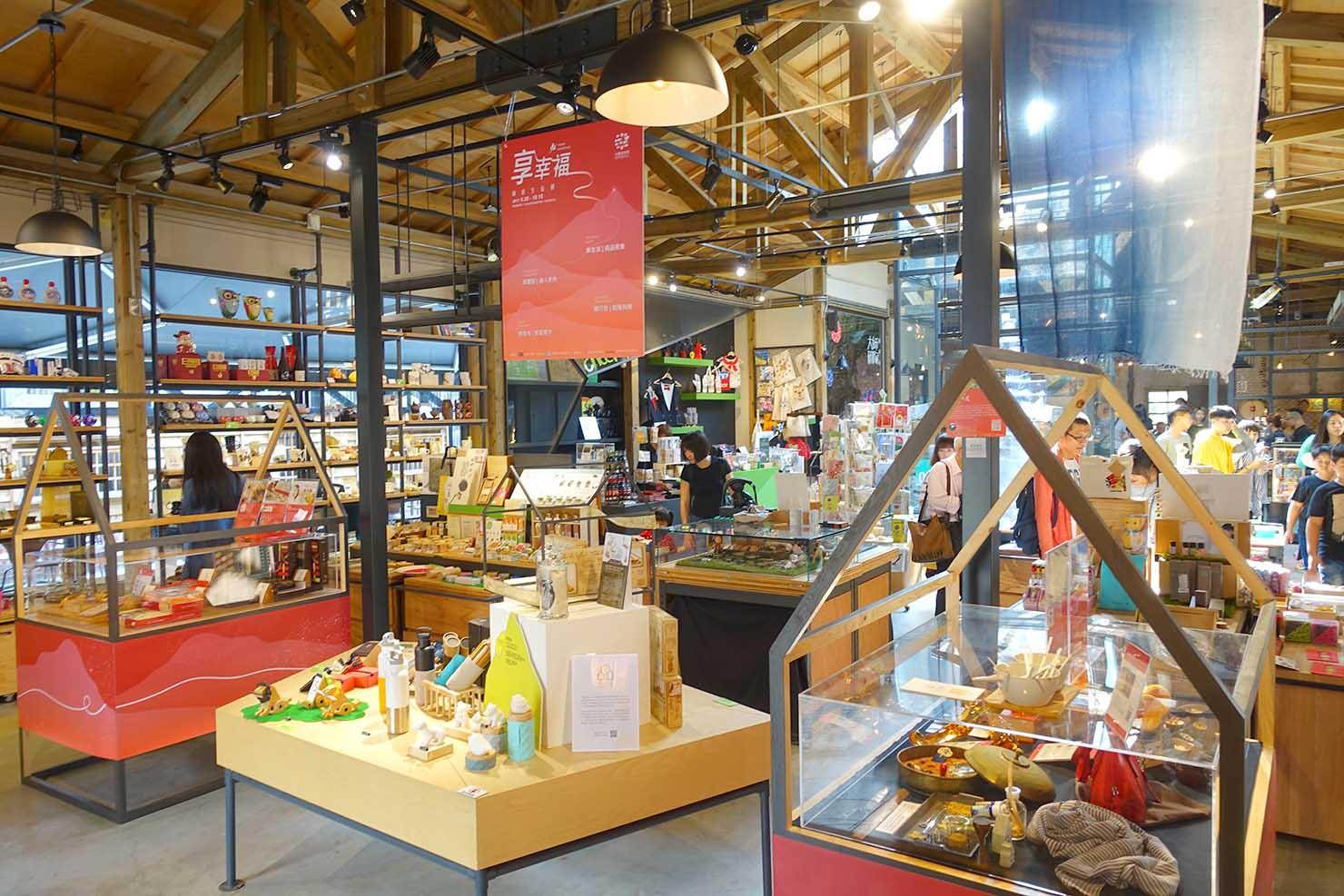 台湾の古都・台南のおすすめ観光スポット「藍晒圖文創園區」のデザインショップ