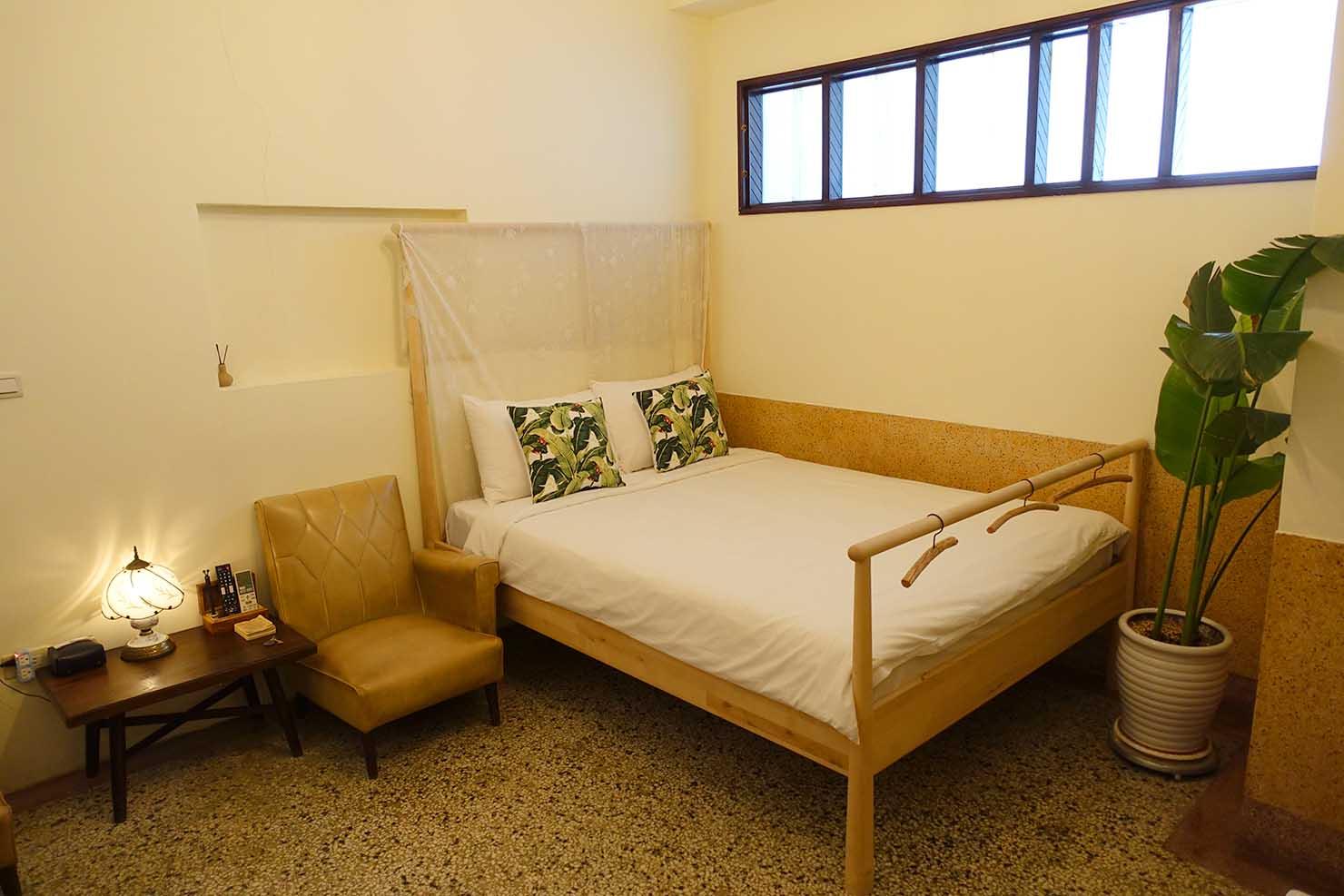 台南・神農街の古民家ゲストハウス「Goin」のデラックスルーム