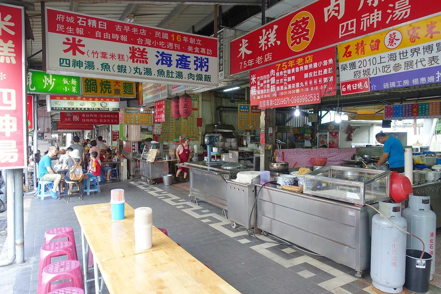 台湾の古都・台南のおすすめ観光スポット「赤崁樓」周辺のグルメスポット