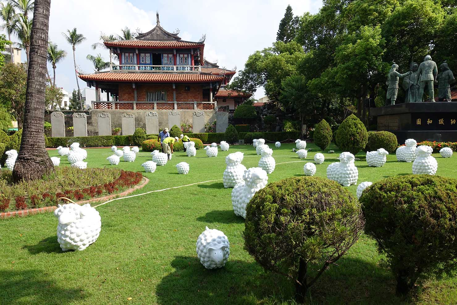 台湾の古都・台南のおすすめ観光スポット「赤崁樓」の外観