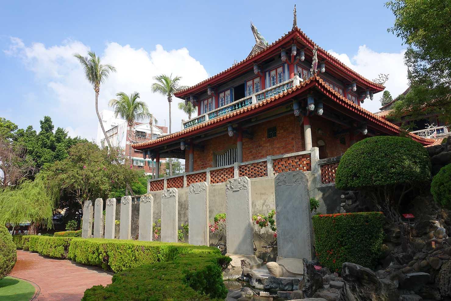台湾の古都・台南のおすすめ観光スポット「赤崁樓」の文昌閣