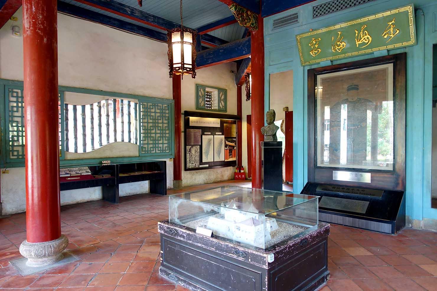 台湾の古都・台南のおすすめ観光スポット「赤崁樓」文昌閣の内部