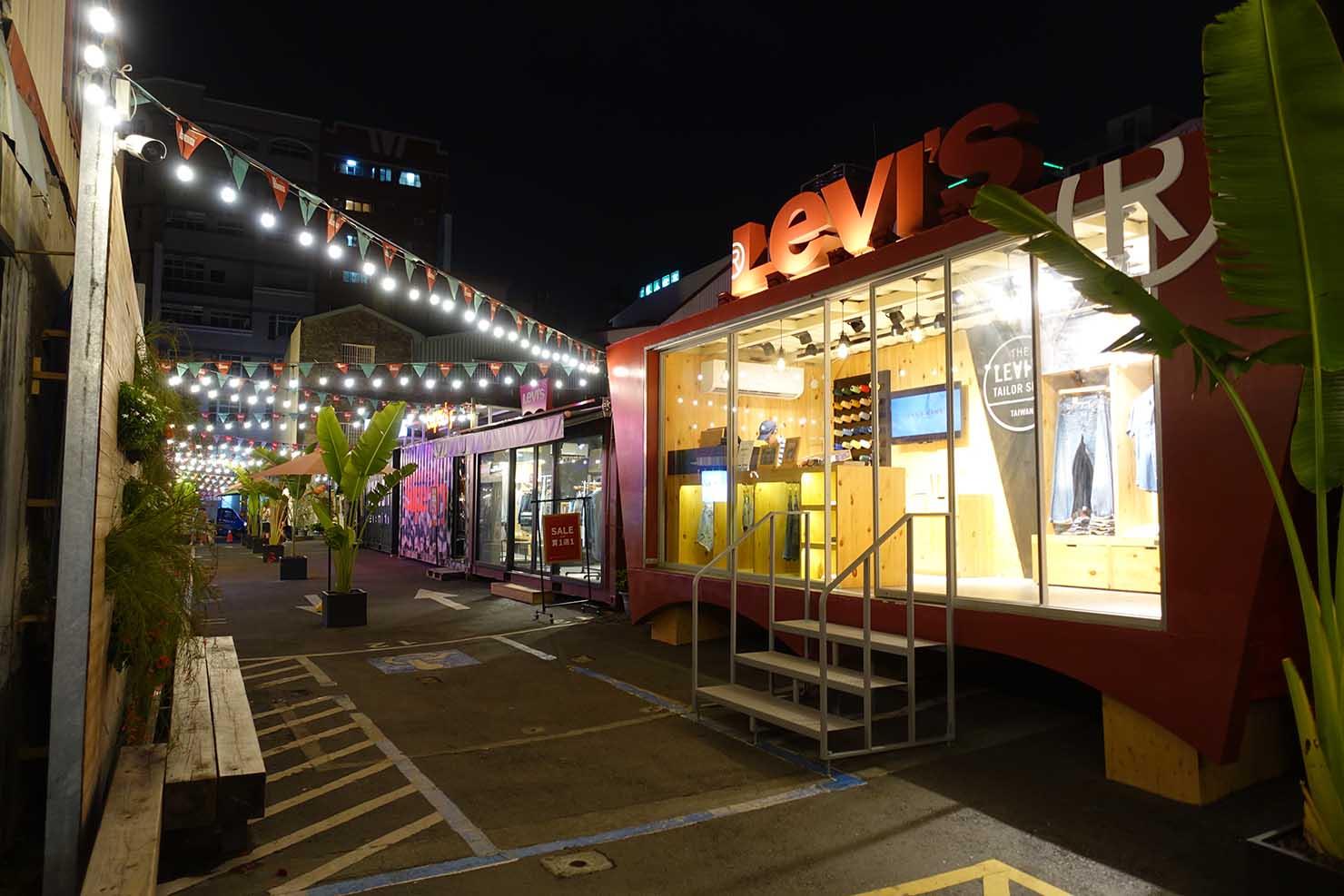 台湾の古都・台南のおすすめ観光スポット「正興商圈」の夜景