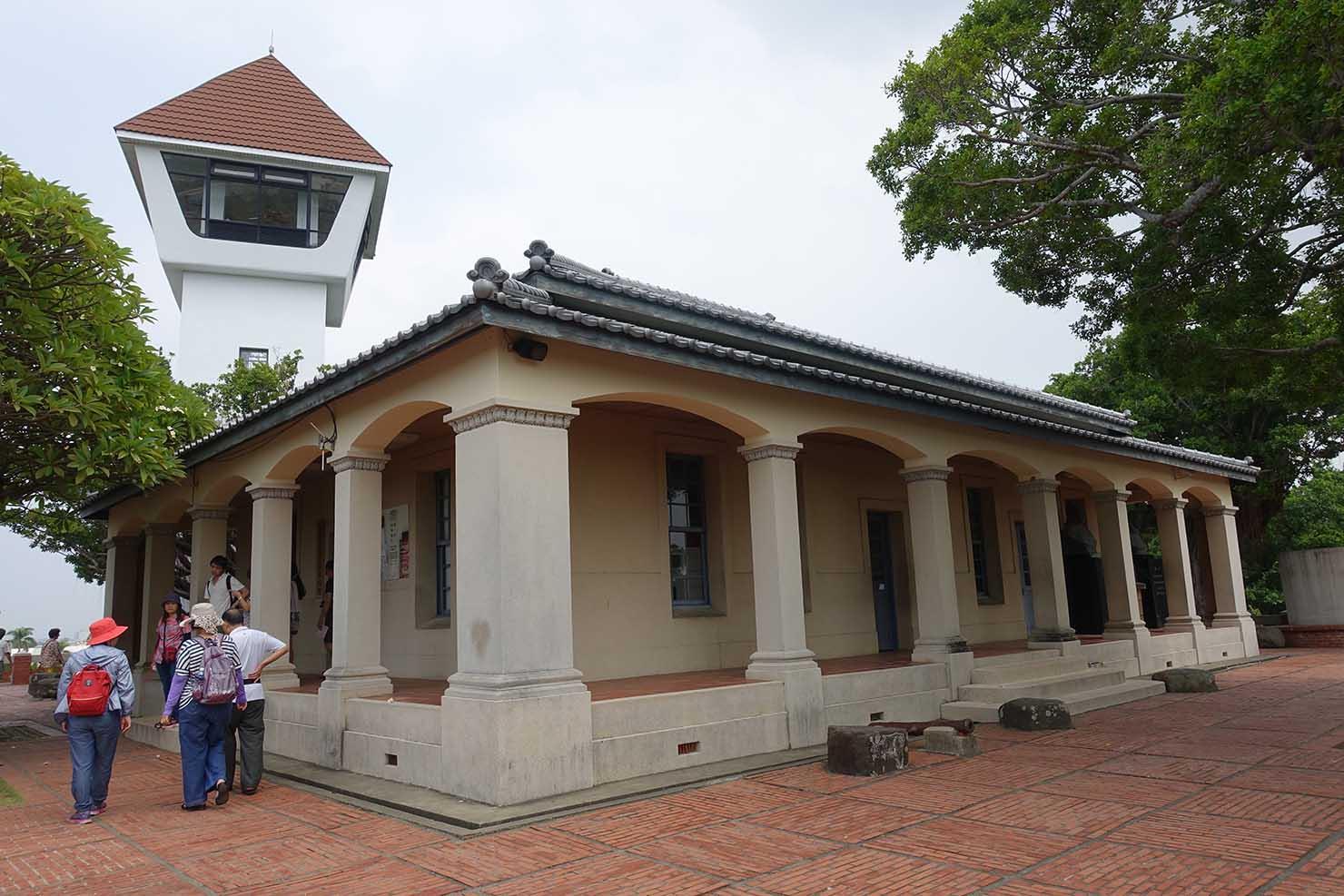 台湾の古都・台南のおすすめ観光スポット「安平古堡」の資料館と展望台