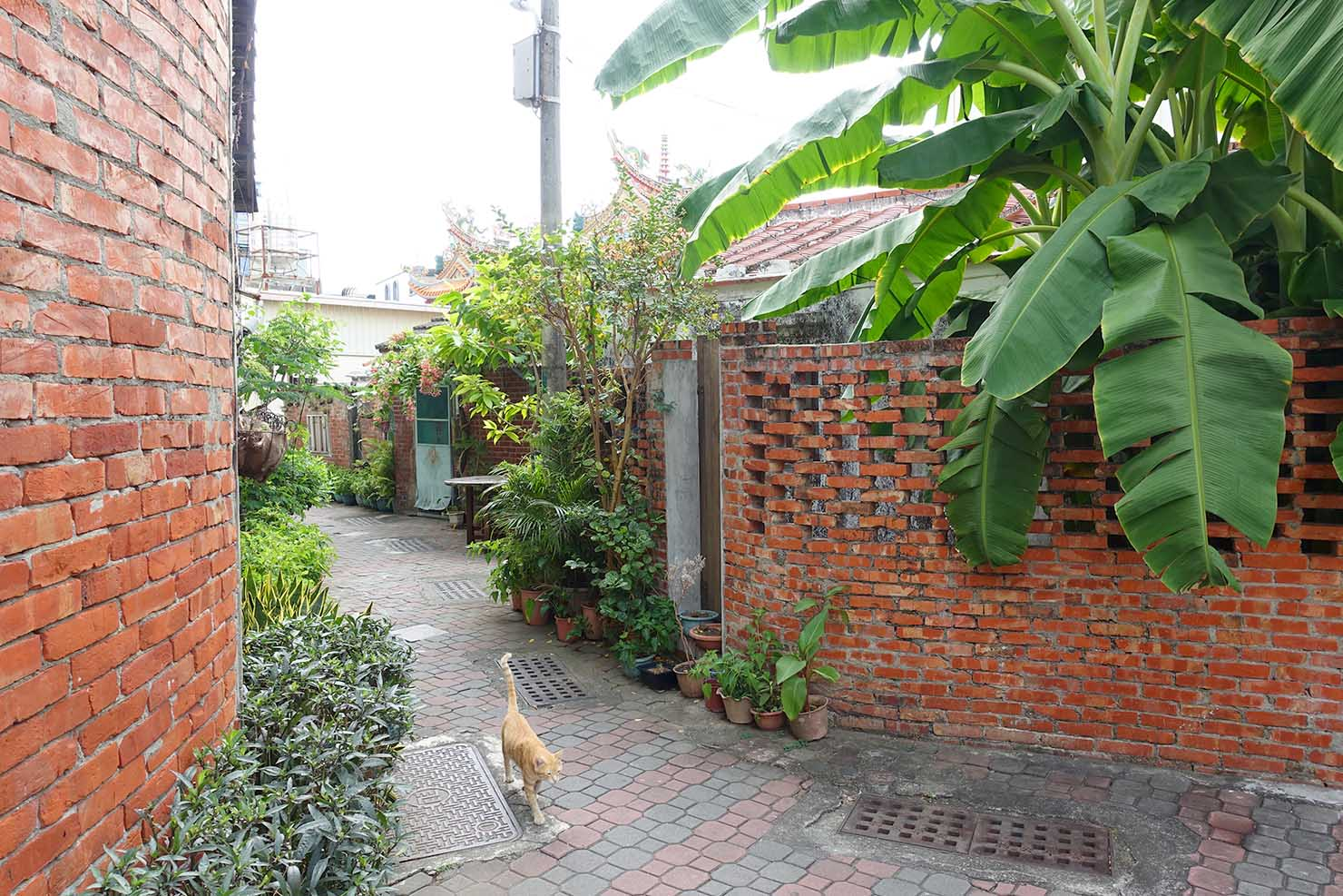 台湾の古都・台南のおすすめ観光エリア「安平」の路地裏