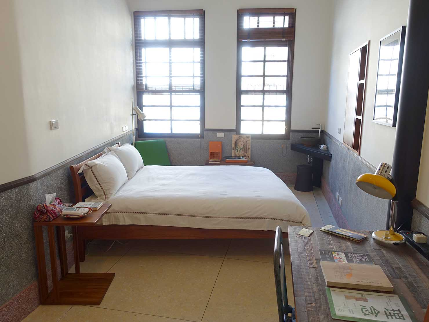 台北・迪化街のおしゃれな古民家リノベゲストハウス「OrigInn Space」のスタンダードダブルルーム