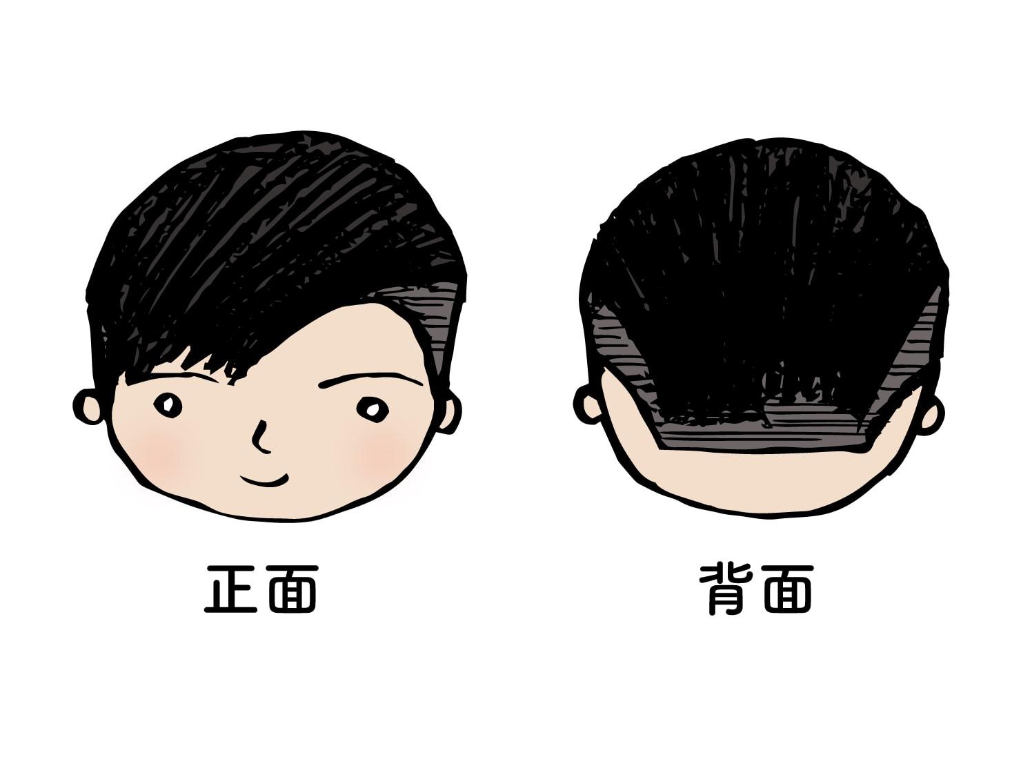 台湾男子御用達のヘアスタイル「アシメ」