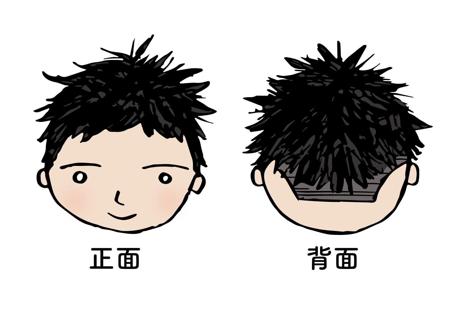台湾男子御用達のヘアスタイル「リアルねぐせ」